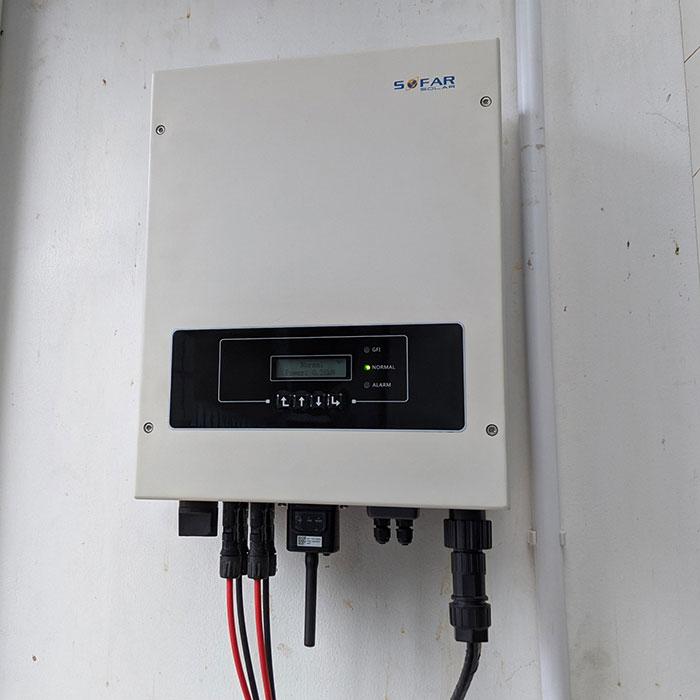 Dự án điện mặt trời hòa lưới áp mái 5KWP Chị Quỳnh ở Quận 9 8