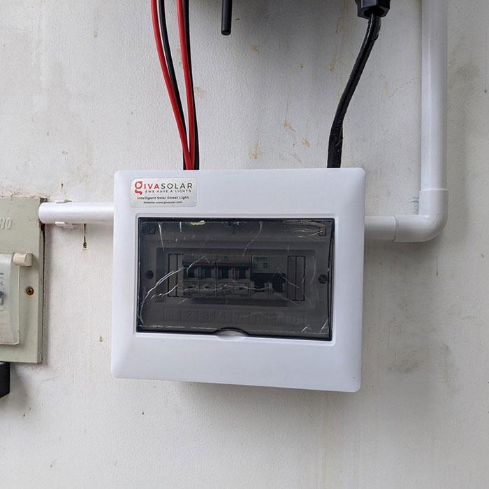Dự án điện mặt trời hòa lưới áp mái 5KWP Chị Quỳnh ở Quận 9 9