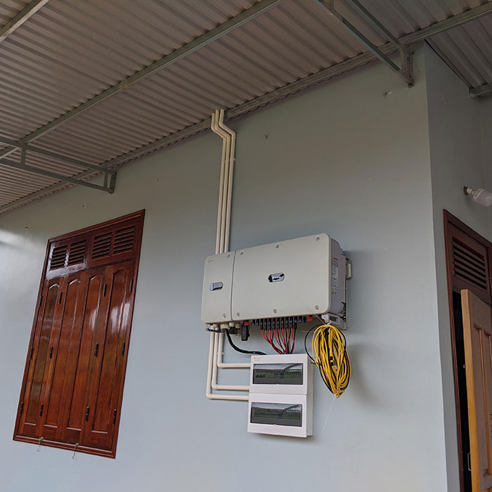 điện năng lượng mặt trời hòa lưới 45KW cho anh Cừ ở Đắk Nông 20