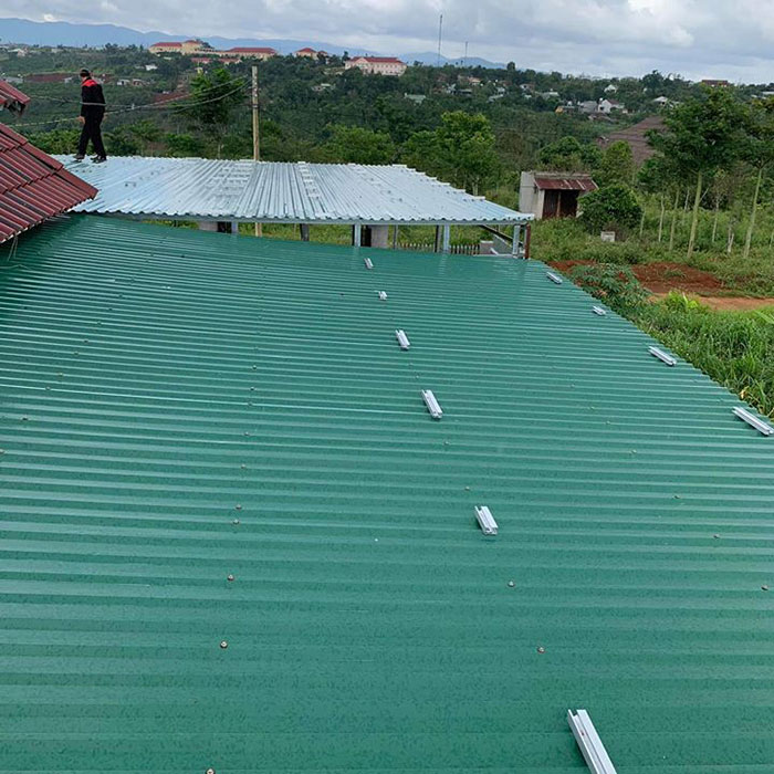 điện năng lượng mặt trời hòa lưới 45KW cho anh Cừ ở Đắk Nông 3