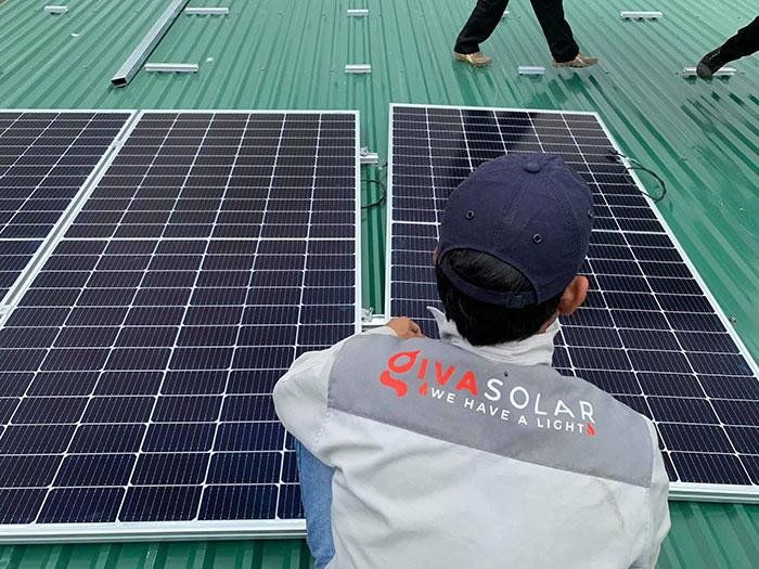điện năng lượng mặt trời hòa lưới 45KW cho anh Cừ ở Đắk Nông 8