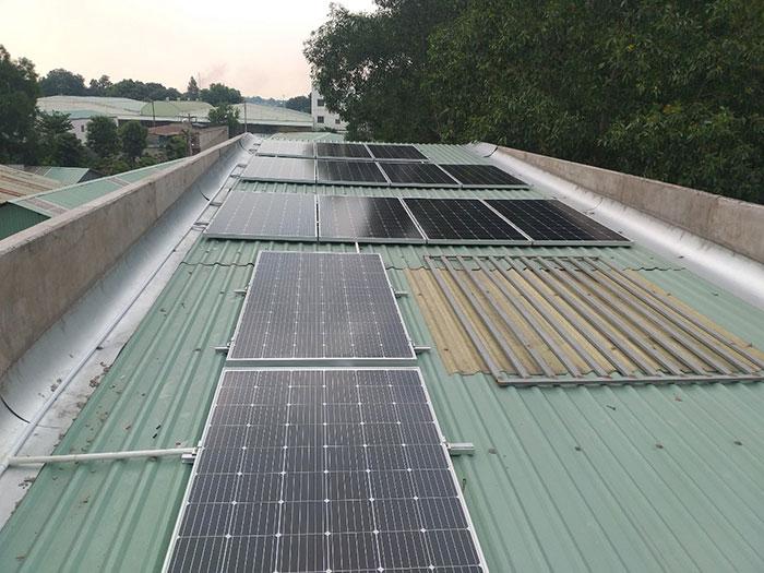 Dự án lắp đặt điện mặt trời 5KW cho gia đình anh Thiên ở Bình Dương 2