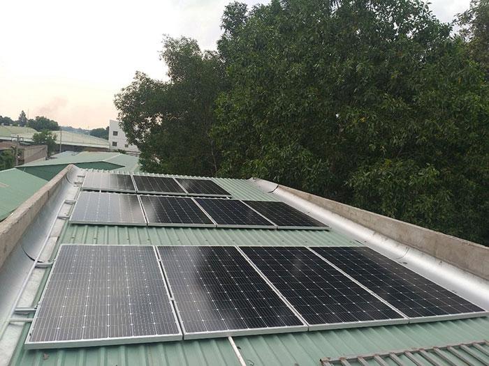 Dự án lắp đặt điện mặt trời 5KW cho gia đình anh Thiên ở Bình Dương 3