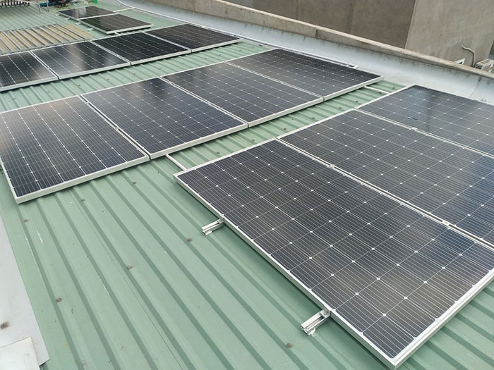 Dự án lắp đặt điện mặt trời 5KW cho gia đình anh Thiên ở Bình Dương 4