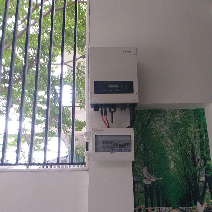 Dự án lắp đặt điện mặt trời 5KW cho gia đình anh Thiên ở Bình Dương 5