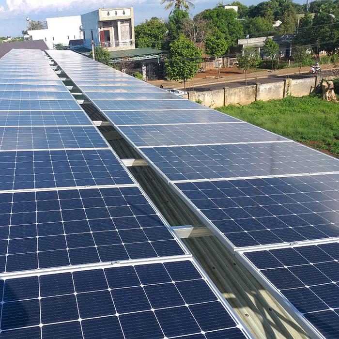 Lắp đặt hệ thống điện năng lượng mặt trời 25KW ở Gia Lai 3
