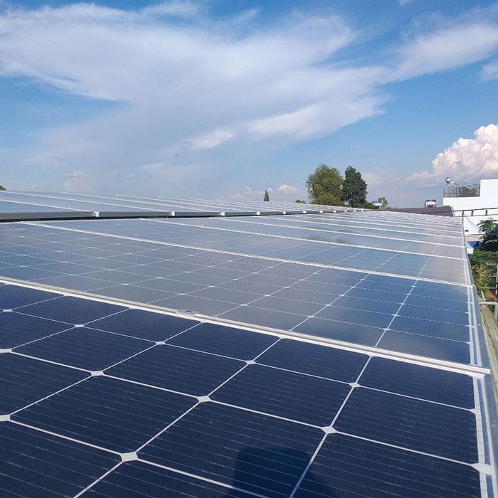 Lắp đặt hệ thống điện năng lượng mặt trời 25KW ở Gia Lai 4
