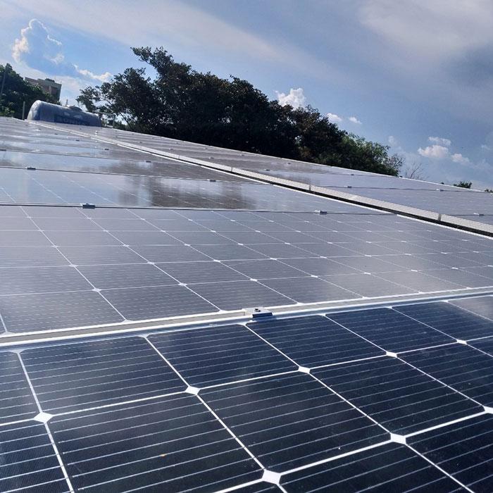 Lắp đặt hệ thống điện năng lượng mặt trời 25KW ở Gia Lai 5