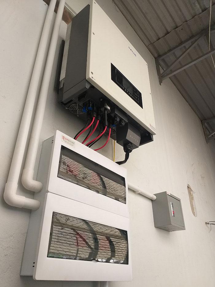 Lắp đặt hệ thống điện năng lượng mặt trời 25KW ở Gia Lai 6