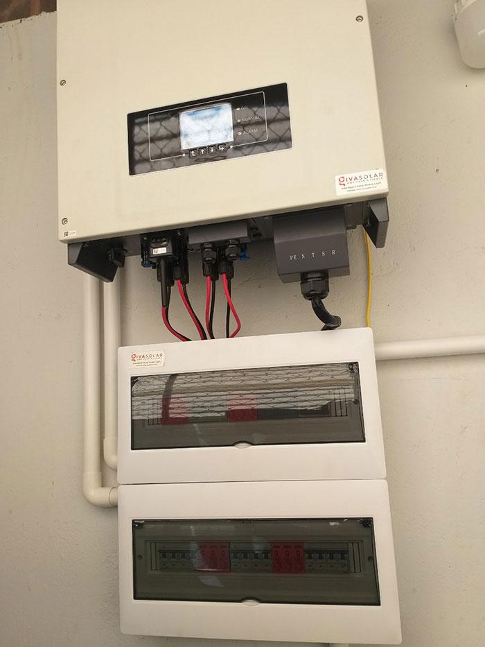Lắp đặt hệ thống điện năng lượng mặt trời 25KW ở Gia Lai 7