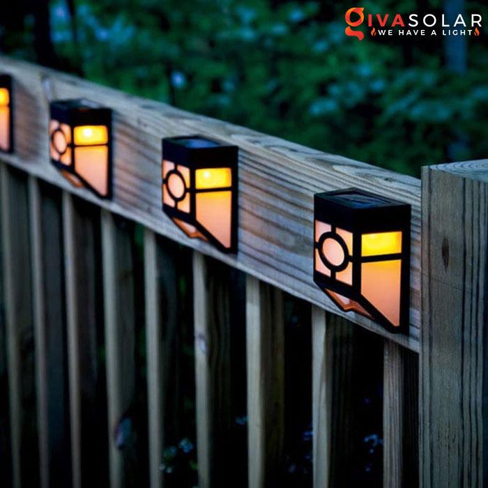 ý tưởng chiếu sáng và trang trí cầu thang với đèn năng lượng mặt trời 1