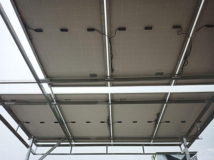 hệ thống điện mặt trời hòa lưới 5KW cho anh Minh ở Tân Bình 6