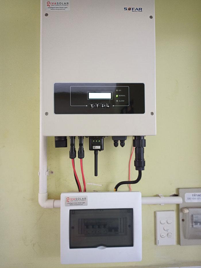 hệ thống điện mặt trời hòa lưới 5KW cho anh Minh ở Tân Bình 8