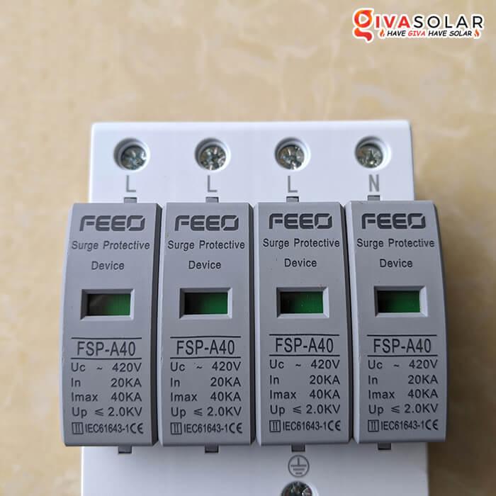 Thiết bị chống sét FEEO AC 4P 10