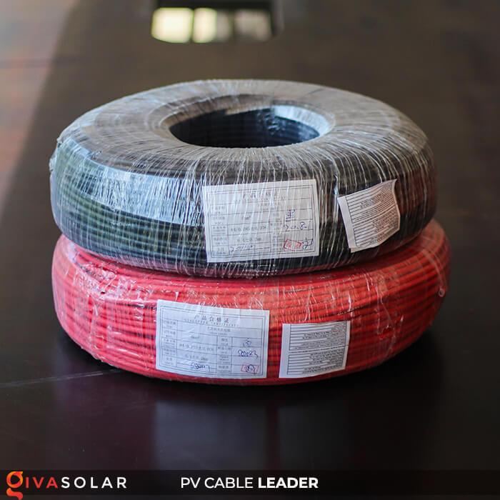 Dây cáp điện năng lượng mặt trời Leader 4mm2 6mm2 1