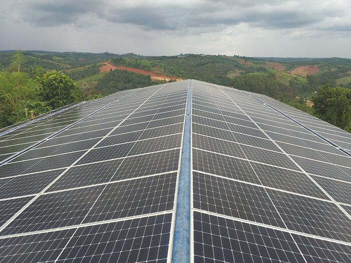 Dự án điện mặt trời hòa lưới 90KW cho gia đình anh Chiến ở Đắk Nông 2