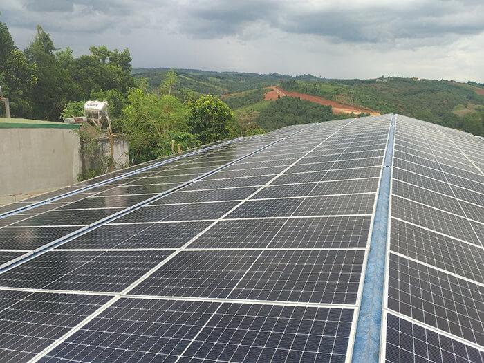 Dự án điện mặt trời hòa lưới 90KW cho gia đình anh Chiến ở Đắk Nông 3