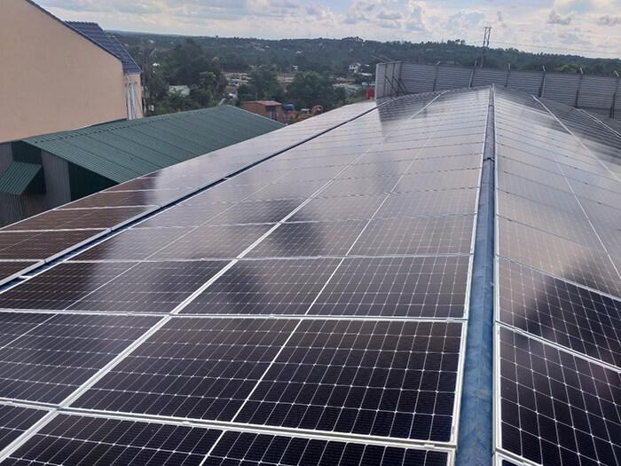 Dự án điện mặt trời hòa lưới 90KW cho gia đình anh Chiến ở Đắk Nông 4