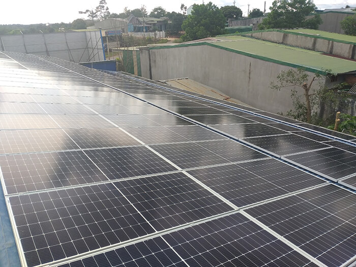 Dự án điện mặt trời hòa lưới 90KW cho gia đình anh Chiến ở Đắk Nông 5
