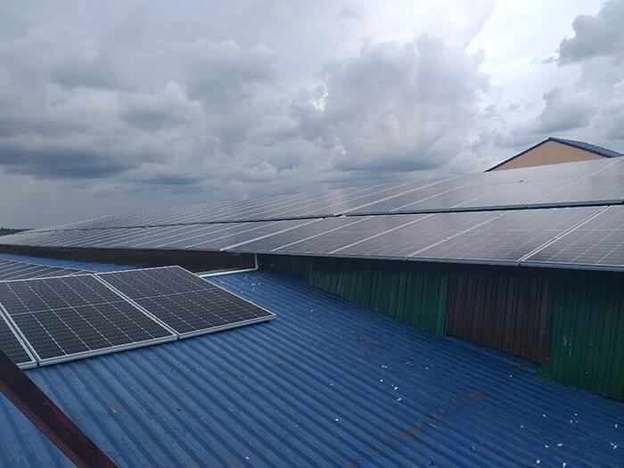 Dự án điện mặt trời hòa lưới 90KW cho gia đình anh Chiến ở Đắk Nông 7