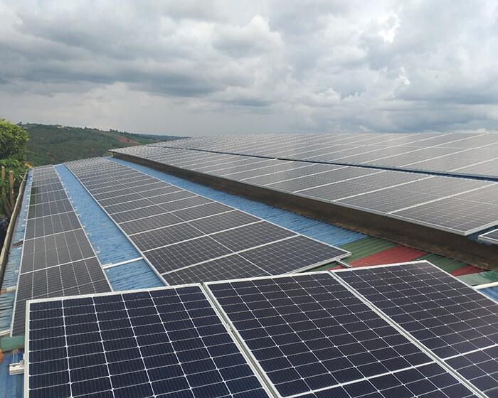 Dự án điện mặt trời hòa lưới 90KW cho gia đình anh Chiến ở Đắk Nông 8