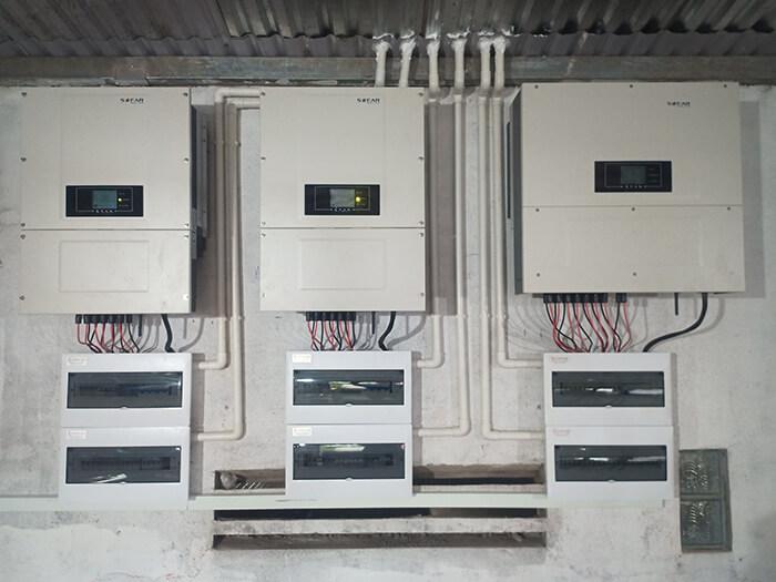 Dự án điện năng lượng mặt trời hòa lưới 130KW cho anh Long ở Đắk Nông 15