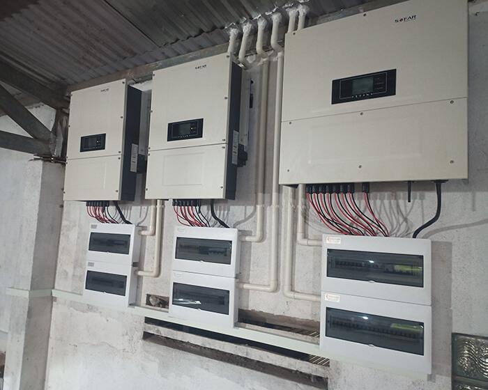 Dự án điện năng lượng mặt trời hòa lưới 130KW cho anh Long ở Đắk Nông 17