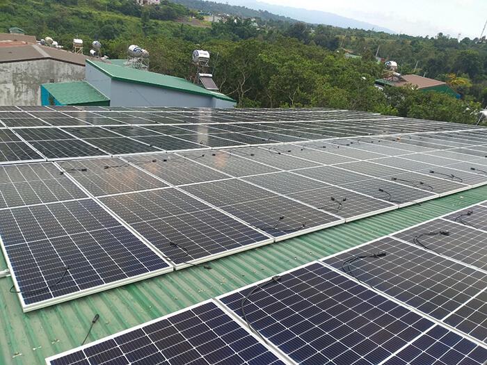 Dự án điện năng lượng mặt trời hòa lưới 130KW cho anh Long ở Đắk Nông 5