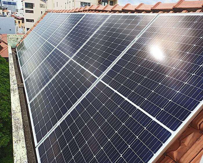 hệ thống điện hòa lưới 6KW cho hú Mật ở Tân Bình 4