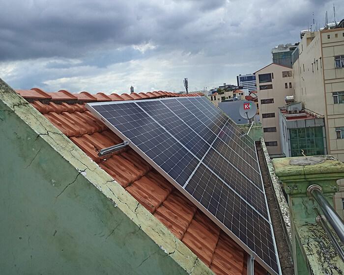 hệ thống điện hòa lưới 6KW cho hú Mật ở Tân Bình 5