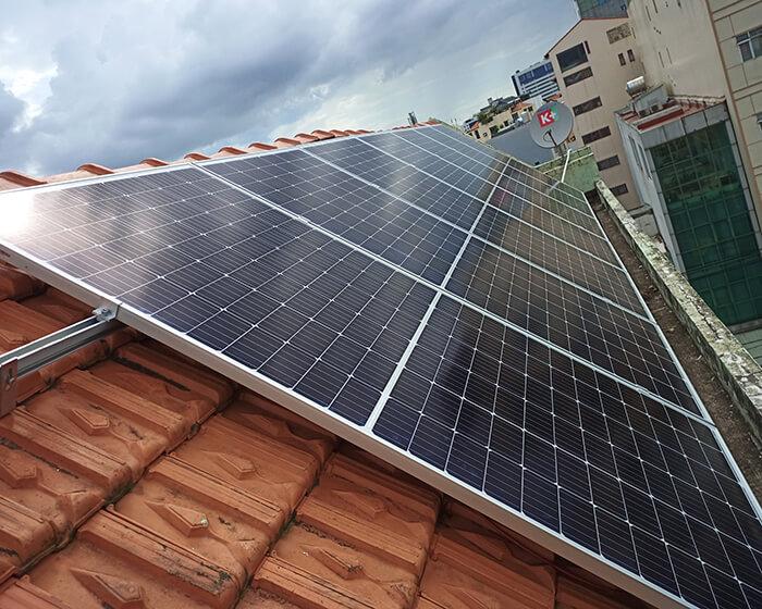 hệ thống điện hòa lưới 6KW cho hú Mật ở Tân Bình 6