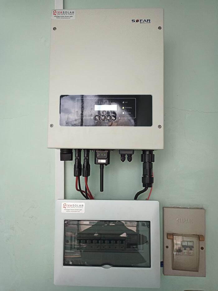 hệ thống điện hòa lưới 6KW cho hú Mật ở Tân Bình 7