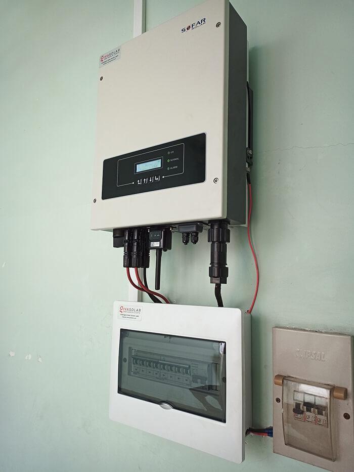 hệ thống điện hòa lưới 6KW cho hú Mật ở Tân Bình 8