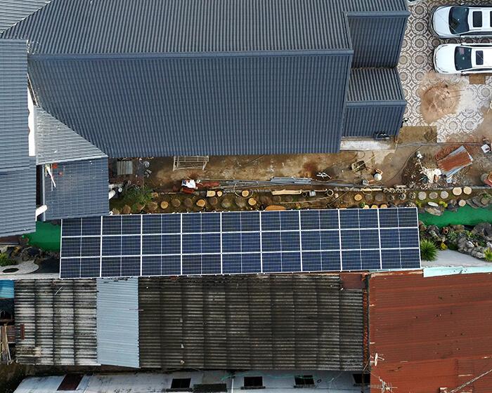 Hệ thống điện mặt trời cho gia đình chú Bá 11KW ở Bà Rịa Vũng Tàu 10
