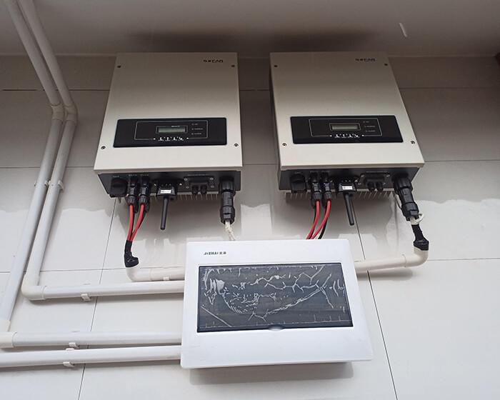 Hệ thống điện mặt trời cho gia đình chú Bá 11KW ở Bà Rịa Vũng Tàu 14