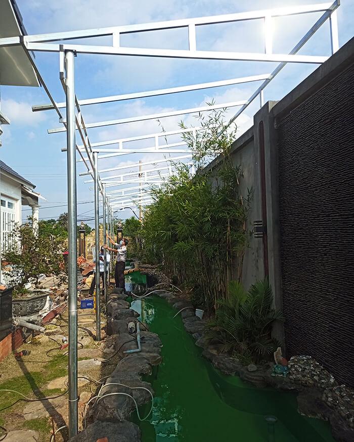 Hệ thống điện mặt trời cho gia đình chú Bá 11KW ở Bà Rịa Vũng Tàu 2
