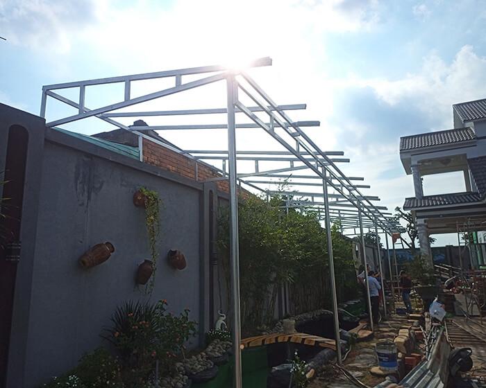 Hệ thống điện mặt trời cho gia đình chú Bá 11KW ở Bà Rịa Vũng Tàu 3