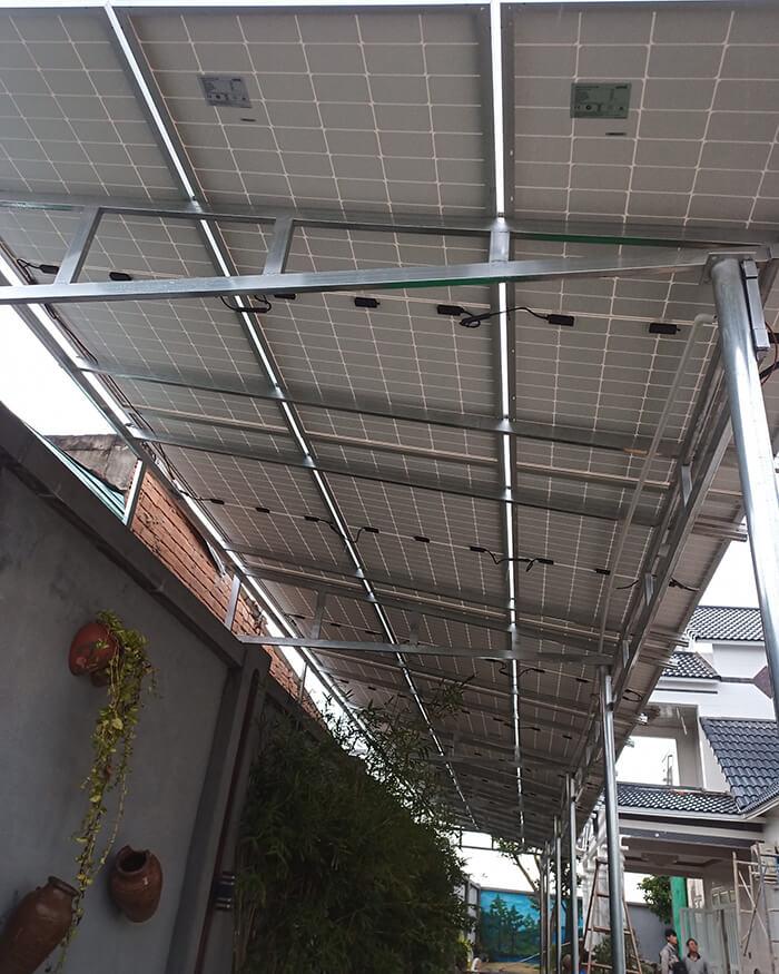 Hệ thống điện mặt trời cho gia đình chú Bá 11KW ở Bà Rịa Vũng Tàu 6