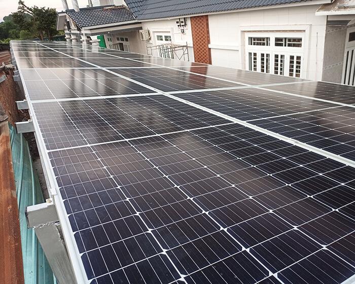 Hệ thống điện mặt trời cho gia đình chú Bá 11KW ở Bà Rịa Vũng Tàu 7
