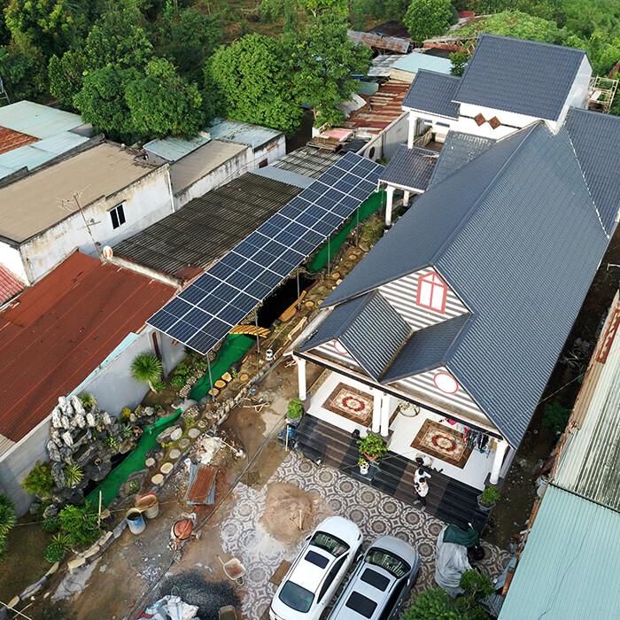 Hệ thống điện mặt trời cho gia đình chú Bá 11KW ở Bà Rịa Vũng Tàu 8