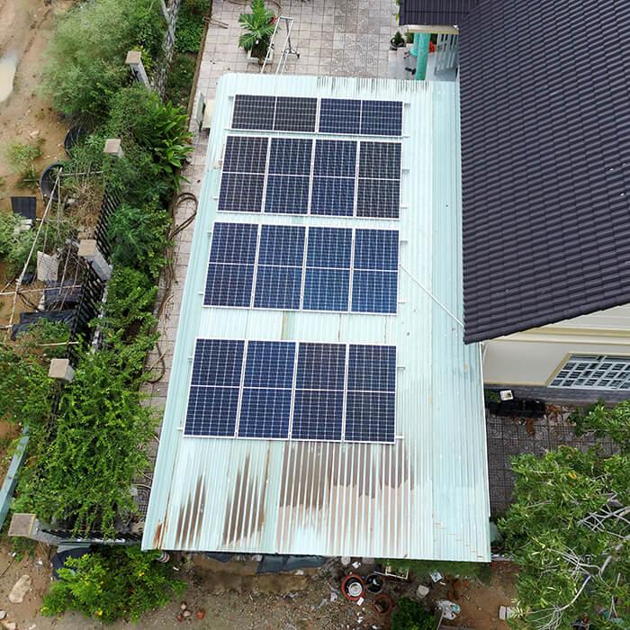 Lắp đặt hệ thống điện năng lượng mặt trời 6KW cho chú Thôi ở BRVT 10