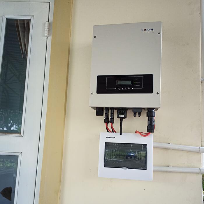 Lắp đặt hệ thống điện năng lượng mặt trời 6KW cho chú Thôi ở BRVT 11