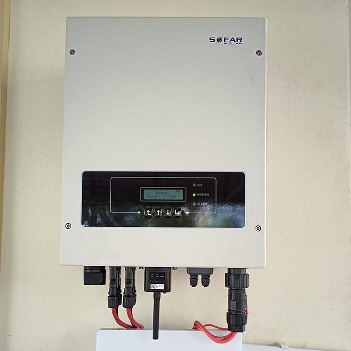Lắp đặt hệ thống điện năng lượng mặt trời 6KW cho chú Thôi ở BRVT 12