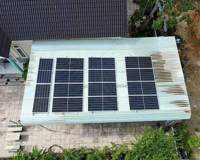 Lắp đặt hệ thống điện năng lượng mặt trời 6KW cho chú Thôi ở BRVT 5