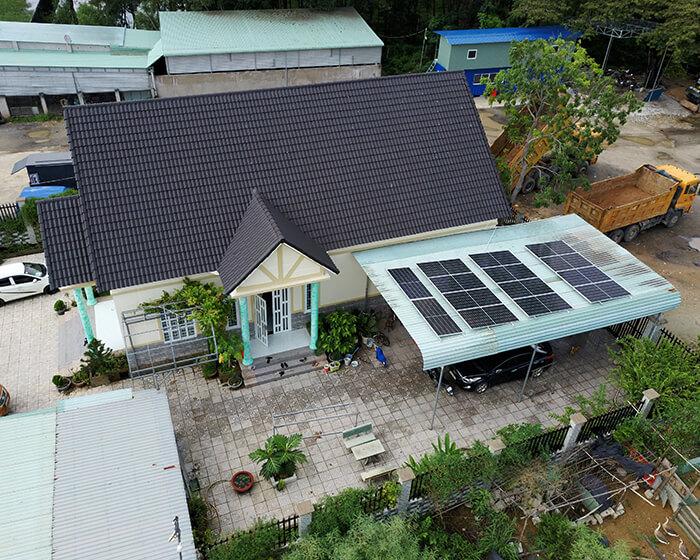 Lắp đặt hệ thống điện năng lượng mặt trời 6KW cho chú Thôi ở BRVT 6