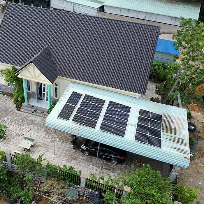 Lắp đặt hệ thống điện năng lượng mặt trời 6KW cho chú Thôi ở BRVT 7