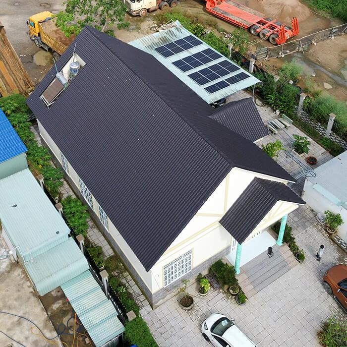 Lắp đặt hệ thống điện năng lượng mặt trời 6KW cho chú Thôi ở BRVT 8