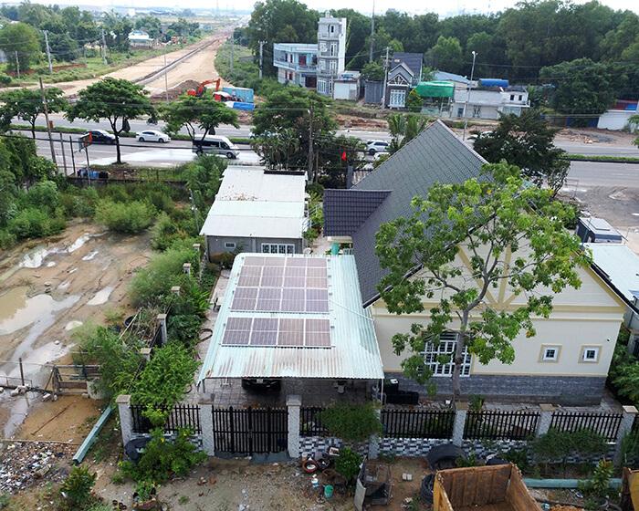 Lắp đặt hệ thống điện năng lượng mặt trời 6KW cho chú Thôi ở BRVT 9