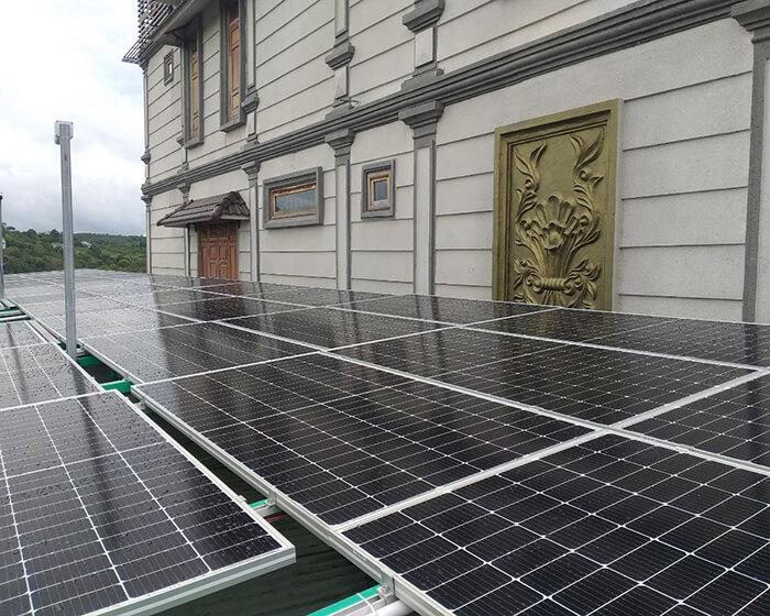 Hoàn thành lắp hệ thống điện mặt trời 40KW cho chị Vy ở Đắk Nông 4