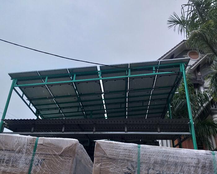 Hoàn thành lắp hệ thống điện mặt trời 40KW cho chị Vy ở Đắk Nông 6